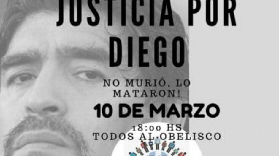 10mmarchaparapedirjusticiaporlamuertedemaradona| La 100 Bragado 909 mhz