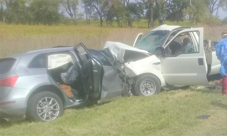 Accidente en Bragado