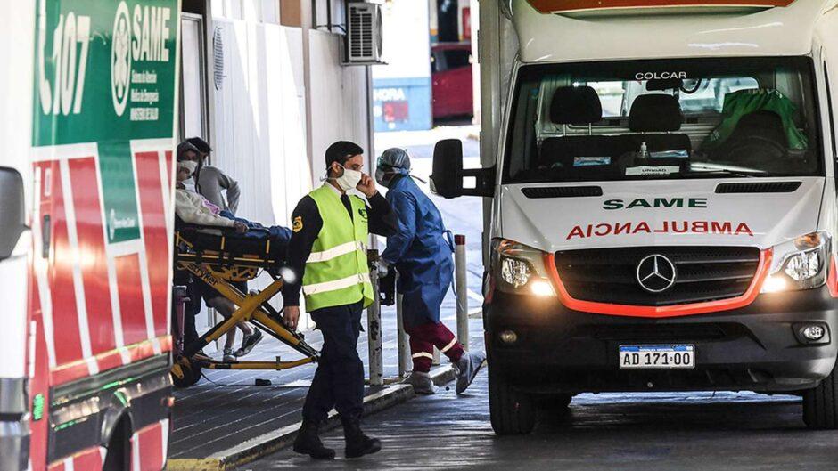 coronavirus-en-la-argentina:-informaron-24.999-nuevos-casos-y-383-muertos-en-24-horas| La 100 Bragado 90.9 mhz