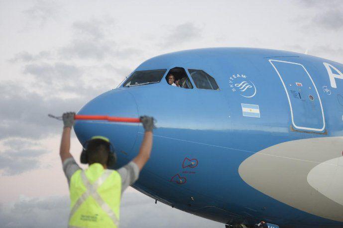 partio-hacia-beijing-un-nuevo-vuelo-de-aerolineas-argentinas| La 100 Bragado 90.9 mhz