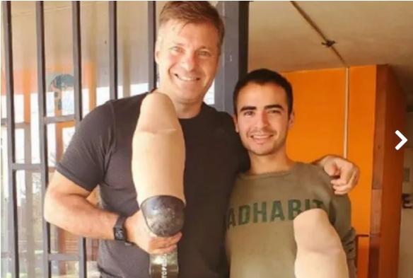 le-robaron-las-protesis-a-un-reconocido-deportista-y-un-joven-repartidor-de-pizzas-lo-salvo| La 100 Bragado 90.9 mhz